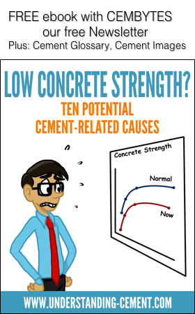 Ebook cover: low concrete strength?