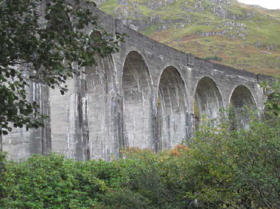 Photo of Glenfinnan viaduct, Scotland