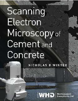 Image of cover of book: SEM of cement and concrete