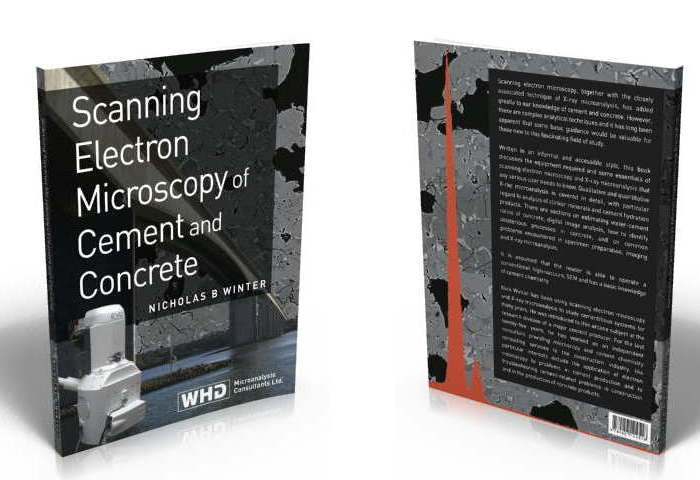 Photo of front and back covers of SEM book